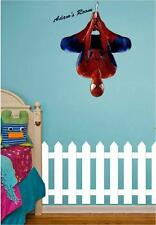 SPIDER-MAN Wall Art Sticker Personalised Name Boys Kids Bedroom