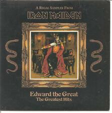 "IRON MAIDEN ""Edward The Great - The Greatest Hits"" 5 Track Sampler Promo CD Rare"