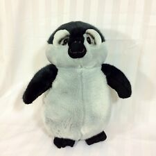 "LOU RANKIN Best Friends 14"" Penguin Gray Black Russ Plush Stuffed Animal"