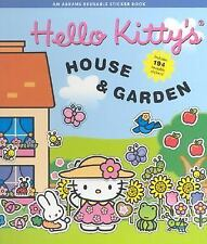 Hello Kitty's House & Garden: Reusable Sticker Book