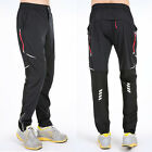 Mens Casual Sports Bike Cycling Jersey Quick-Drying Pants Reflective Trousers