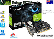 Video Card Upgrade 2GB DDR3 PCI Express Graphic Card HMDI + DVI + VGA, GF GT 710