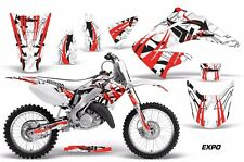 Honda Graphic Kit AMR Racing Bike Decal CR 125/250 Decal MX Parts 02-15 EXPO RED