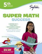 Sylvan Math Super Workbooks: Super Math Success, Grade 5 : Activities,...