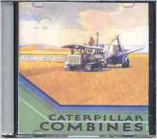 1931 Caterpillar Combines catalog on CD - 34, 36 & 38 models, Line drawings ect.