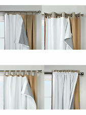 """Thermalogic Ultimate Liner, Blackout Insulated Curtain Liner, for a 95"""" panel"""