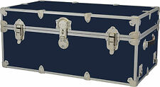 New Rhino Storage Trunk Footlocker32x18x14 for Camp, College & Dorm. USA Made