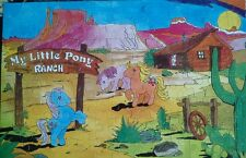My little pony ranch jigsaw 1984