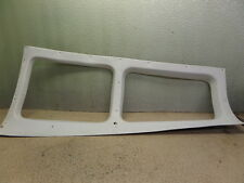 GOOD BEECHCRAFT SUNDOWNER PILOT SIDE REAR WINDOW PLASTIC TRIM PANEL FRAME
