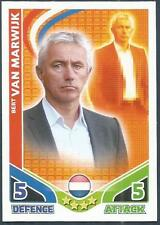 TOPPS MATCH ATTAX WORLD CUP 2010-HOLLAND-BERT VAN MARWIJK-MANAGER