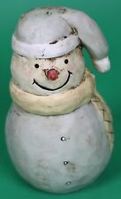 Christmas Round Snowman Decoration Ornament