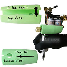 Anti Shock Push on Tattoo Machine Gun Grip Silicone Cover Holder Protect Knuckle