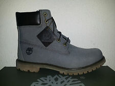 $150 Timberland Womens 6 Inch Premium Fabric Boot 9M Dark Olive Canvas