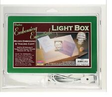 "NIP Craft LIGHT BOX-- 9"" x 6"" dry embossing tracing negatives stenciling photos"