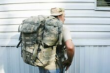 MOLLE II 6 PC ACU DIGITAL BACK PACK RUCK SET RARE TO FINE THESE BRAND NEW