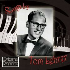 CD SONGS BY TOM LEHRER OLD DOPE PEDDLER WILD WEST WIENER SCHNITZEL WALTZ