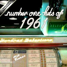 NUMBER 1 HITS 1961 NEW CD 25 GREATEST THE BEST OF 1961 SIXTIES POP/ ROCK N ROLL