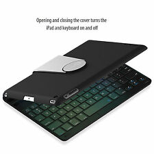 JETech 2010 Wireless Bluetooth iPad Keyboard Case for Apple iPad 2 3 4