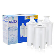 Brita Water Filter Pitcher Advanced Replacement 3 Count  Free Shipping NEW