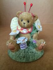"""Cherish Teddies """"you're The Sweetest Thing To Ever Flutter Figurine."""
