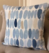"16"" cushion cover Laura Ashley Wallace seaspray & Austen natural fabric"