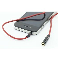 3.5mm Male to Female Stereo Audio Headphone Extension cord for iphone ipod ipad