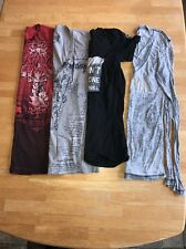 Lot Of 4 Affliction T Shirts Women's