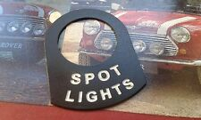 MINI COOPER S CLASSIC BMC MPI RALLY SPOT LIGHTS LUCAS SWITCH SURROUND RARE WORKS