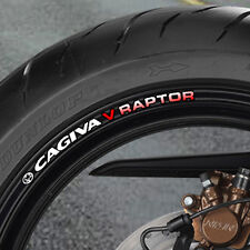 CAGIVA V RAPTOR WHEEL RIM STICKERS - 650 1000 B