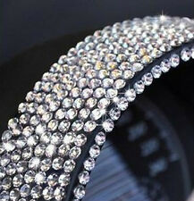 900 4mm Argento Cristallo Diamante Strass decorazione fai da te Adesivo Auto/