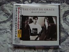 THE COUP DE GRACE The Art Of Survival CD JAPAN OBI