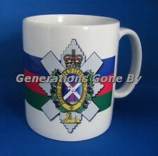 BLACK WATCH (CREST) COFFEE MUG