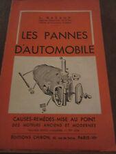 L. Razaud: les pannes d'automobile/ Editions Chiron