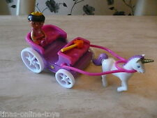 DORA THE EXPLORER TALKING PRINCESS CARRIAGE WITH MAGIC WAND AND DORA FIGURE!