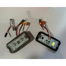 2 LED OSRAM COPPIA PLAFONIERA TARGA LED NO ERRORE  FIAT 500