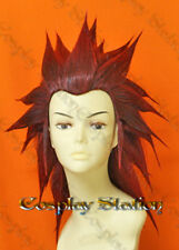 Kingdom Hearts Organization XIII Axel custom styled Cosplay Wig_wig483