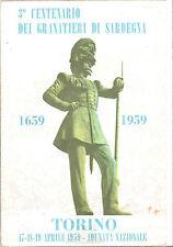CARTOLINA 3° CENTENARIO DEI GRANATIERI DI SARDEGNA - TORINO 1959
