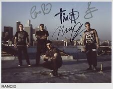 Rancid FULLY SIGNED Photo 1st Generation PRINT Ltd 150 + Certificate (4)