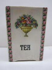 DITMAR URBACH PEARL GLAZE LUSTER ART POTTERY TEA CONTAINER