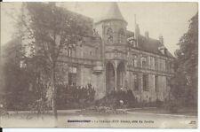 CPA 77- NANTOUILLET - el castillo (XVI° siglo), côté del jardin