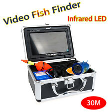 "BOBLOV 30m 7"" LCD Infrared Underwater Camera Fish Finder+Sunvisor+Lights Control"