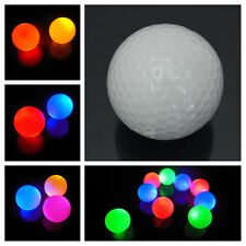 Light-up Flashing Glow in the Dark LED Electronic Golf Ball For Night Golfing