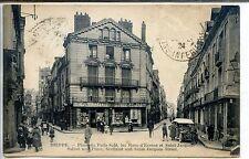 CP 76 SEINE-MARITIME - Dieppe - Place du Puits-Salé, rues d'Ecosse et St Jacques
