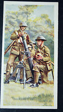 British Army  3 Inch Mortar team   1930's Vintage Picture Card  VGC