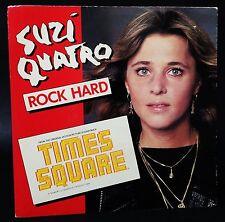 """SUZI QUATRO Rock Hard 7"""" Single Times Square Soundtrack Aust Pressing"""