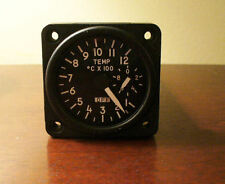 Military Temperature Gauge -REDUCED! Sim Instrument AH-1 Super Cobra