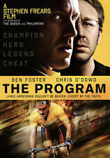 The Program Ben Foster Chris O'Dowd (DVD, 2016)  WS Lance Armstrong Cycling