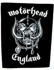 MOTORHEAD England Back Patch rock heavy metal leather denim LEMMY backpatch punk