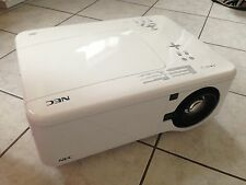 NEC NP4100W DLP HD 720P Widescreen Projector 5500 LUMENS! NEW FACTORY LAMPS!