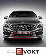Mercedes-Benz A250 Sport Grille Grill With Red Trim For A-Class W176 Genuine New